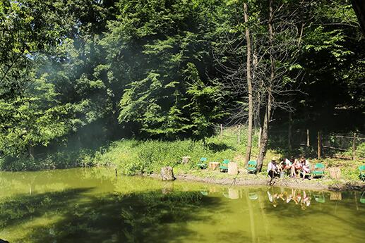 cabana izvoranu buzau activitate lac